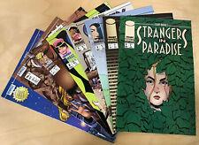 Strangers in Paradise #1-8 First Printings (1996) Comic Lot