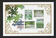 2012 France French Gardens minisheet SG MS5199 Unmounted Mint