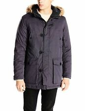 $265! NWT Kenneth Cole New York Men's Slate Down Anorak Jacket Coat Outerwear XL