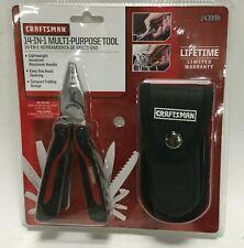 Craftsman Multi Purpose Tool 14-in-1 Tools with Belt Case 943998