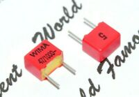 10pcs - WIMA FKP2 47P (47pF) 1000V pitch:5mm 5% Capacitor FKP2O100471D00JSSD