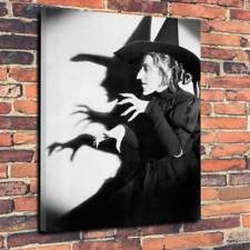 """Wicked Witch The Wizard Of Oz, Canvas Print Picture  A1.30""""x20""""~Deep 30mm Frame"""