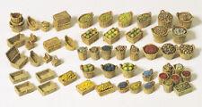 Preiser 17502 Paniers, Fruits, Légumes ( en Vrac ), Kit de Montage, H0