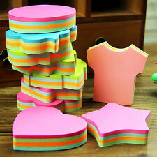 Heart Star Round Sticker Marker Note Bookmark Shape Cute Memo Tab Flags Sticky