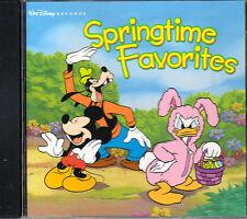 Walt Disney's SPRINGTIME FAVORITES: KIDS EASTER PARTY SONGS CD! PETER COTTONTAIL