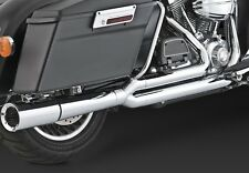 99-08 HARLEY TOURING: PRO PIPE Chrome Full Exhaust System: VANCE AND HINES 17557