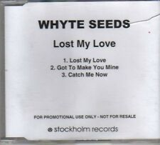 (BP107) Whyte Seeds, Lost My Love - DJ CD