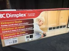 Dimplex Electric Kickspace Heater Indoor Unvented Home White RKHA20D31W