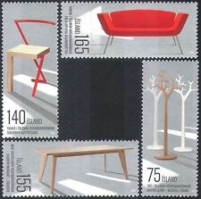 Iceland 2010 Furniture Design/Chair/Table/Art/Craft/Engineering 4v set (n42326)