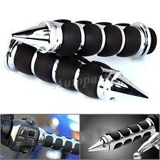 "1"" MOTORCYCLE HANDLEBAR HAND GRIPS For Honda VTX 1300 C R S RETRO Yamaha V-star"
