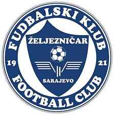 "FK Zeljeznicar FC Bosnia Football Soccer Car Bumper Sticker Decal 4.6""X4.6"""