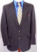 JoS A BANK PREMIER Mens 42R/42 R GRAY Wool Blazer/Sport Coat/Suit Jacket USA