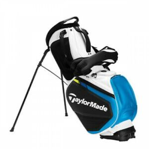 TaylorMade Golf SIM2 2MSCB-TA877 Stand CADDIE BAG White&Black 9.5 4 way top