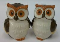 Vintage Owl Salt and Pepper Shakers EUC