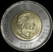 2017 Canada $2 Dollar Toonie Coin, UNC