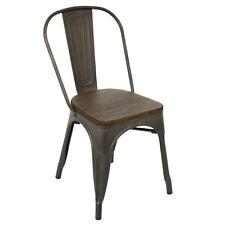 LumiSource Oregon Dining Chair (Set of 2), Antique, Espresso - DC-TW-ORDKESP2