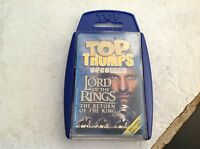 TOP TRUMPS SPECIALS LORD OF THE RINGS RETURN OF THE KING MOVIE CARD GAME MIB