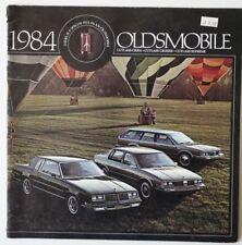 OLDSMOBILE Cutlass 1984 dealer brochure - English - USA - HS2003000918