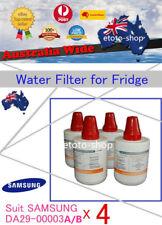 4 X SAMSUNG DA29-00003A DA29-00003B Fridge Water Filter Replacement Cartridge