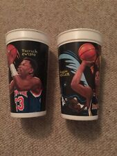 Mcdonald's 32 Ounce Drink Cups NBA Looney Tunes All-star Showdown Miller Ewing