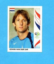 PANINI-GERMANY 2006-Figurina n.228- VAN DER SAR - OLANDA -NEW BLACK