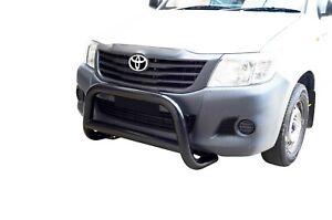 Black Bullbar Nudge Bar Grille Bumper Guard for Toyota Hilux 06-14 D
