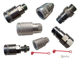 Hydraulik Kupplung Stecker Muffe Schnellkupplung Traktor Bagger Staubschutzkappe