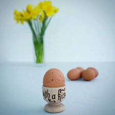 Personalised Wooden Egg Cup hand engraved Father's Day, Mummy gift, Teacher gift