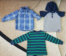 Lot of 3 Boy Clothing Shirt Top Polo Ralph Lauren Baby Gap For All 7 Mankind 4T