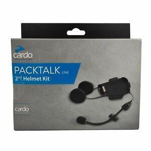 Cardo Scala Rider Motorcycle Helmet Audio Microphone Kit Dual Mic For Packtalk