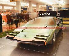 ALFA ROMEO CARABO BERTONE 1968 Fiche Auto #008965
