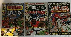 Amazing Adventures Lot of 3  #6, #7 and #9