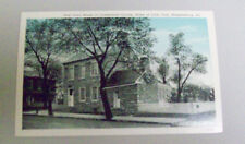 FIRST COURT HOUSE OF CUMBERLAND COUNTY, HOME OF CIVIC CLUB, SHIPPENSBURG, PA