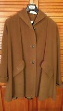 cappotto donna, MISSONI, vintage, 44, marrone, misto cashemere