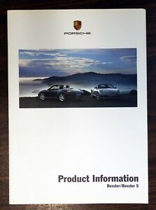 2005 Porsche Boxster/ Boxster S Training and Technical Manual. New.