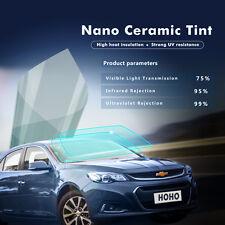 CAR WINDOW NANO CERAMIC 1.52M X 5M SOLAR TINT FILM TINTING SHADE 75% PRO