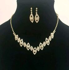 Gold necklace Set wedding and party wear, Uk seller