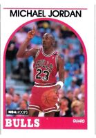 Michael Jordan 1989 NBA Hoops 5TH YEAR CHICAGO BULLS NBA BASKETBALL CARD