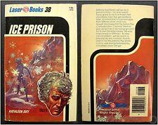 ICE PRISON, Kathleen Sky, Laser Books #38, 1st Ed. 1976 Vintage Sci-Fi Novel