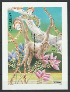 Somalia 2002 Fauna, Animals, Monkeys MNH Block