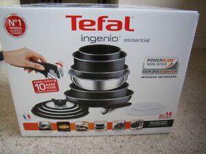 Tefal Ingenio 14 piece set