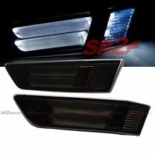 SMOKE FRONT BUMPER LED SIDE MARKER LIGHT LAMP FITS FOR 03-07 INFINITI 2DR COUPE