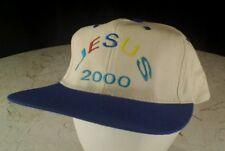 Vintage JESUS 2000 Snapback Hat BRAZIL 100% Cotton RARE VHTF  Embroidered