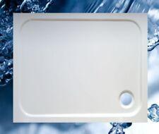 Duschbecken 1100x900 mm bzw. 900x1100 mm superflach / Duschwanne 110x90 cm bzw.