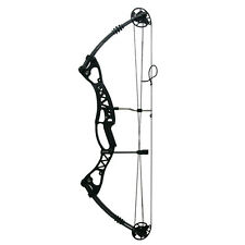 Hunting Archery Compound Bow 40-65 lbs Right Hand Shooting for Men Black