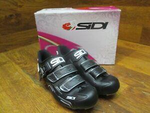 SIDI BUVEL BLACK MOUNTAIN BIKE WOMENS CYCLING SHOES EUR 39.5 US SIZE 7.5
