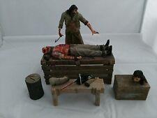 Neca Texas Chainsaw Massacre el comienzo conjunto Figura De Neca Extremadamente Raro
