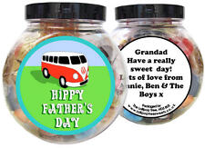 CAMPER VAN PERSONALISED FATHER'S DAY PRESENT - GIFT JAR OF SWEETS