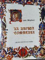 DANTE ALIGHIERI DIVINA COMMEDIA + TUTTE LE OPERE 10 VOLUMI Convivio Fabbri Ed.