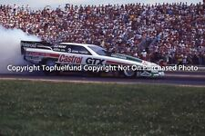 John Force Castrol GTX NHRA Top Fuel Funny Car 8x10 Ca 1989 Oldsmobile Cutlass